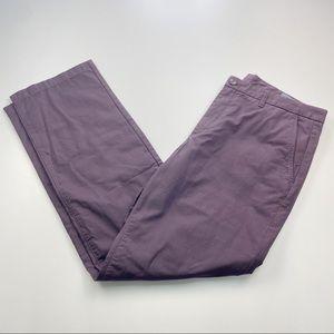 Bonobos Plum Straight Chino Pants 36/32